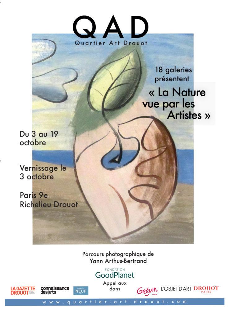 La nature vue par les Artistes - Quartier-Art-Drouot - 2019